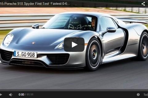 Porsche 918 2015 Review