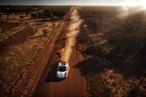 Porsche 918 Spyder Australian Outback