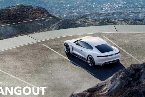 Porsche Electric Sports Cars