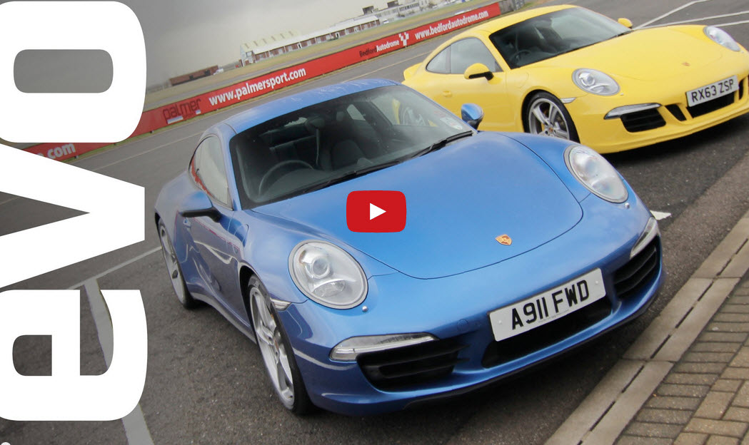 Porsche 911 Carrera 4S v Carrera 2S | evo TRACK BATTLES