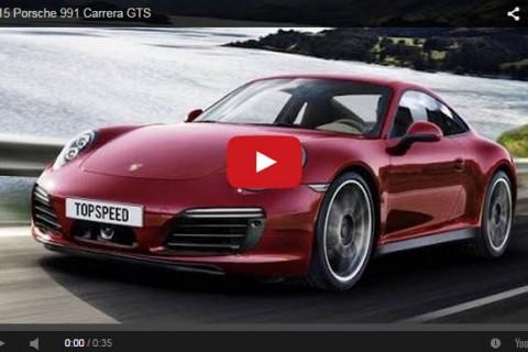 2015 Porsche 991 Carrera GTS