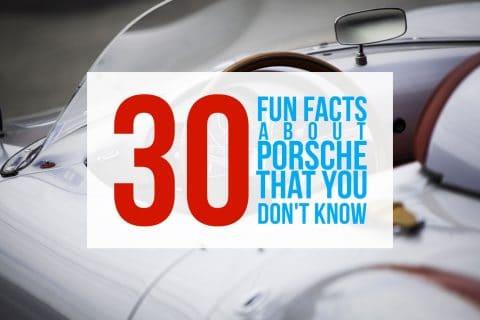 porsche fun facts