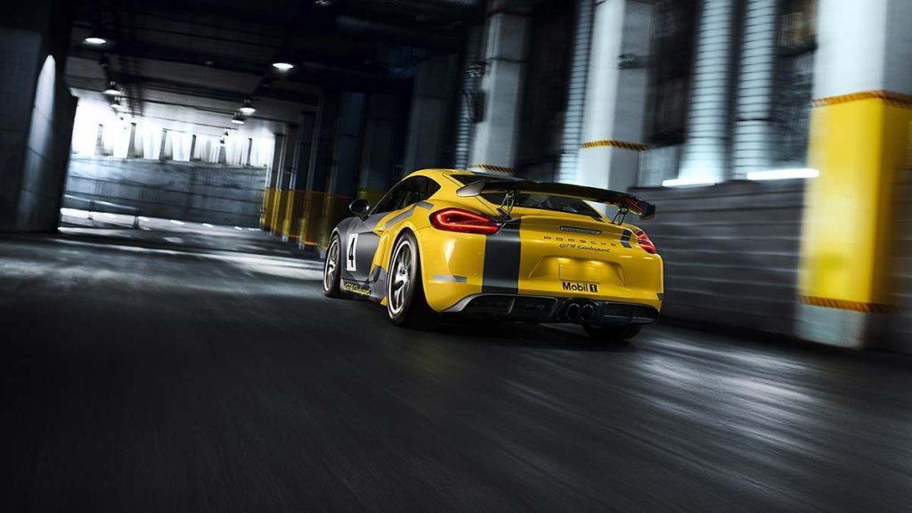 porsche GT4 Racecar