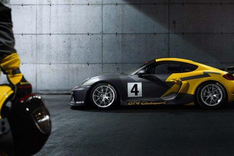 New GT4 Racecar porsche