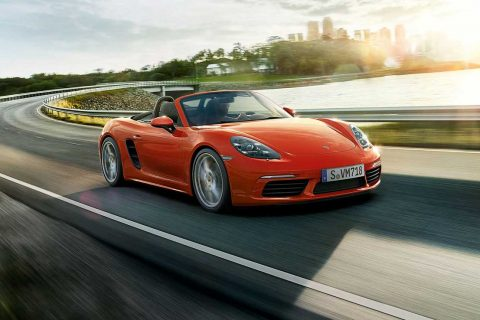 Porsche Boxster With A Flat Six