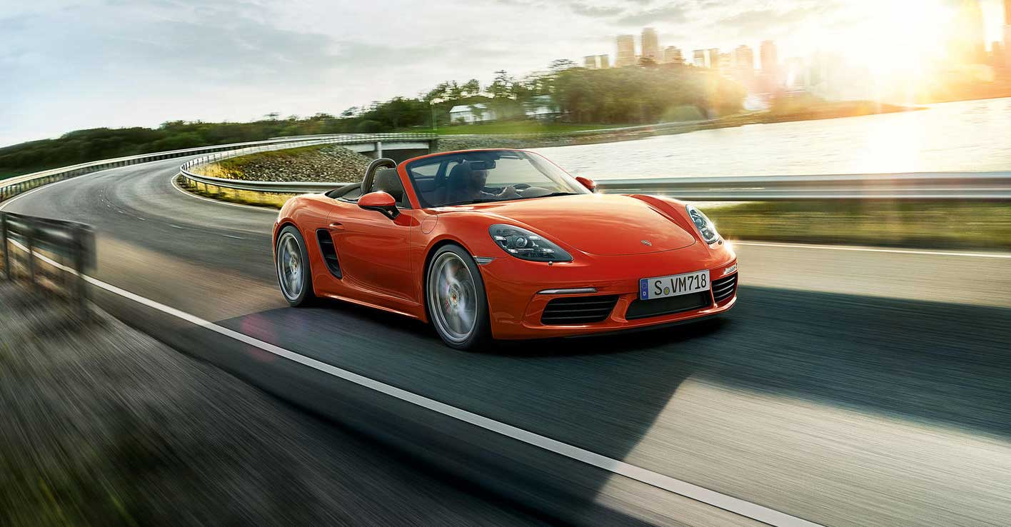 porsche boxster to get its last flat six in the 718 spyder. Black Bedroom Furniture Sets. Home Design Ideas