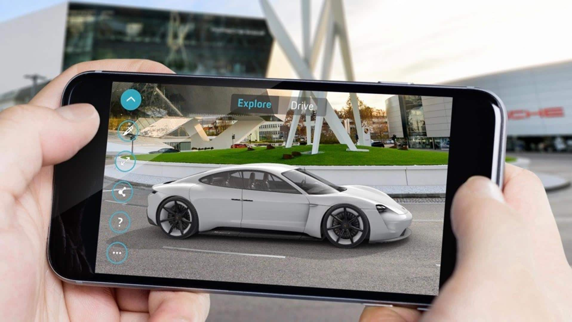 Augmented Reality Helps Experts Share Porsche Information