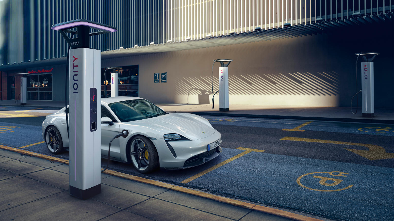 Porsche Electric Charging Stations